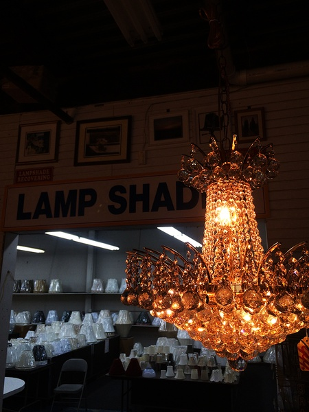 Lamp shade outlet